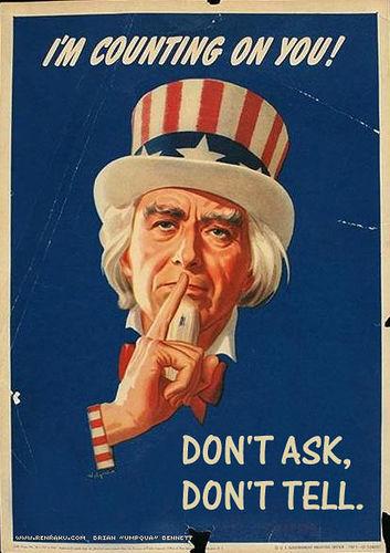 Psicologi e società: don't ask don't tell!