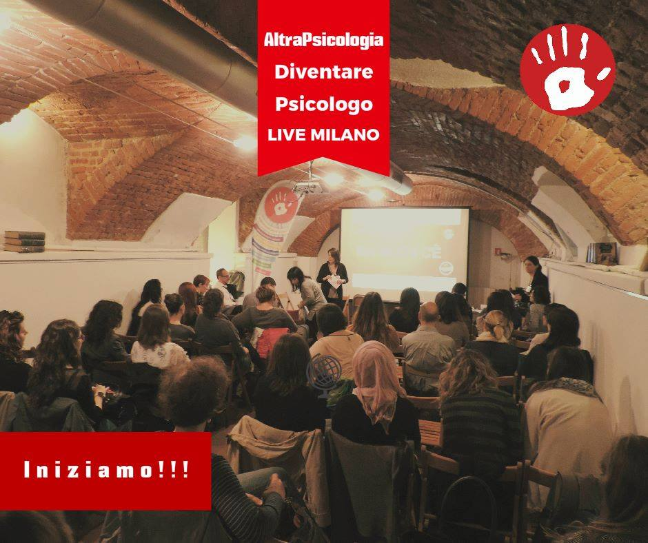 Costruire una psicologia all'altezza dei nostri sogni: DiventarePsicologo live, a Milano