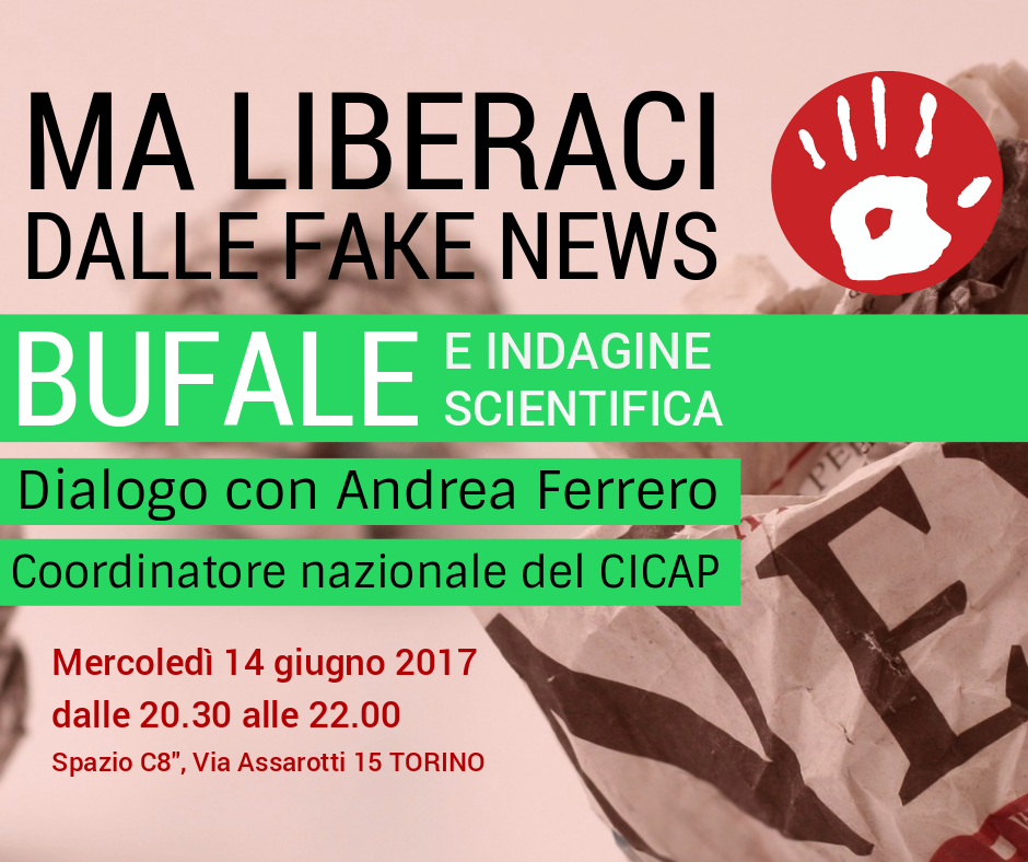 Bufale e indagine scientifica