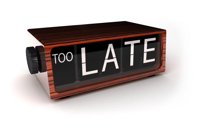 Scusate il ritardo…
