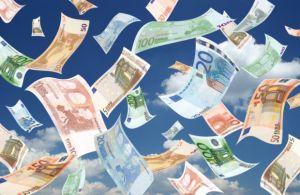 pioggia soldi