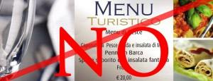 menu turistico