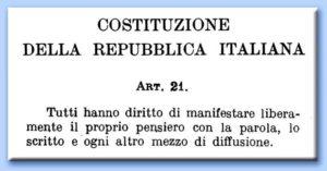articolo costituzione