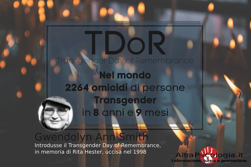 International Transgender Day of Remembrance