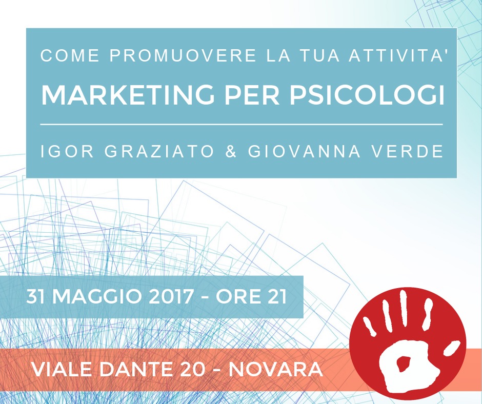 Marketing per Psicologi: AP a Novara