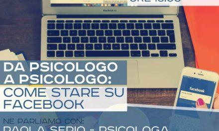 Da psicologo a psicologo: come stare su Facebook