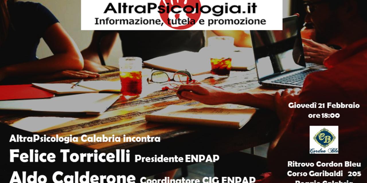 AP Calabria incontra Felice Torricelli e Aldo Calderone – Giovedì 21 febbraio a Reggio