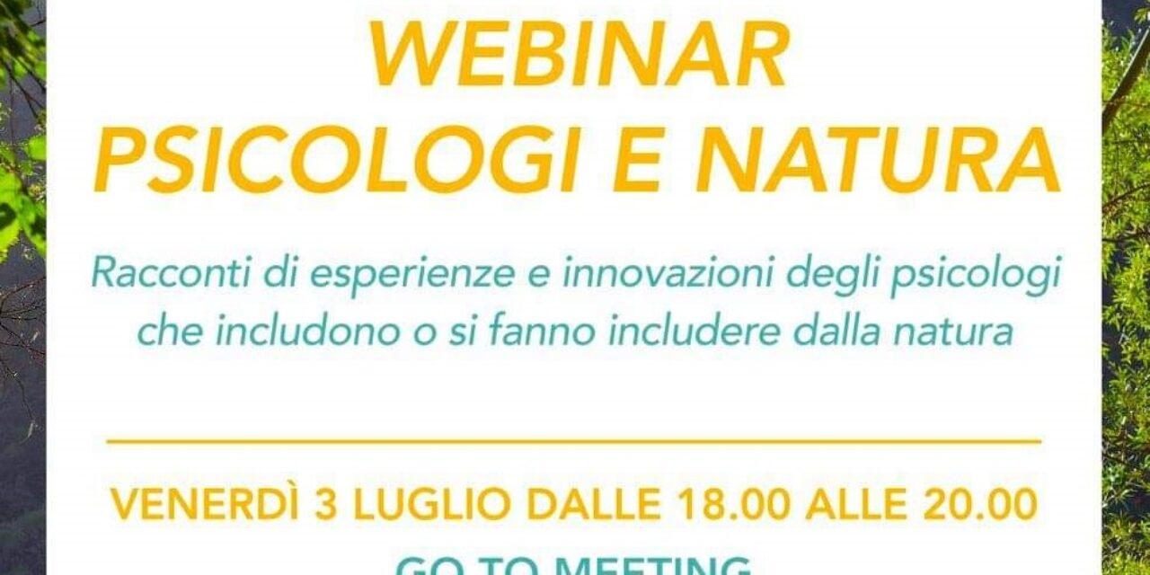 Psicologi e natura: esperienze, intuizioni e innovazioni