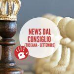 News dal Consiglio della Toscana – Settembre 2021